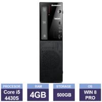 Настольный компьютер Lenovo ThinkCentre E73 SFF (Intel Core i5-4430S | 4 GB RAM | 500 GB HDD | Multi-Drive | Windows 8 Pro)
