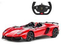 Jucărie teleghidată Rastar Lamborghini Aventador J 1:12 Red