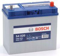 Bosch S4 12V 45Ah 330EN 238x129x227 -/+