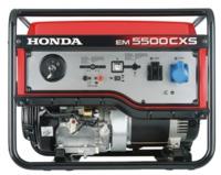 HONDA EM5500CX2 G, красный