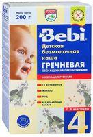 Bebi безмолочная гречневая каша 200gr.(4+)