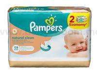 Pampers Влажные салфетки Natural Clean (128 шт.)