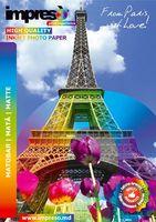 Бумага фото IMPRESO А4, 130 г/м2, 50 листов, матовая