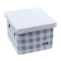 купить Коробка с крышкой 220x220x160 мм, голубой в Кишинёве