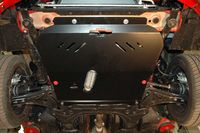 !         ChevroletAveo 2008 - 2011 ЗАЩИТА КАРТЕРА SHERIFF | Защита двигателя