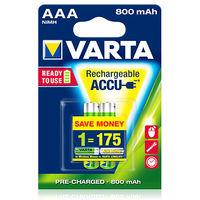 купить Аккумулятор Varta Micro 800 mAh AAA (2шт) в Кишинёве