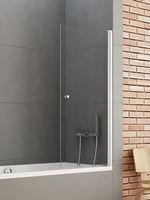 New Trendy Bathtub New Soleo P-0024 Screen Hinged 70x140 (10845)