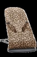 Шезлонг-качалка BabyBjorn Bliss Beige/Leopard, Bumbac Limited Edition