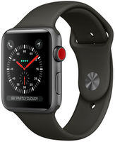 Apple Watch Series 3 42mm Space Grey Aluminium Case Sport Band Black (MTF32FS/A)