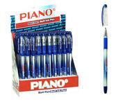 Ручка гелевая PT-197 soft ink,0.7mm, синяя