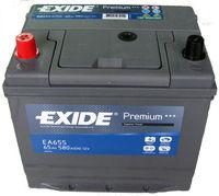 **АКБ Exide  PREMIUM 12V  65Ah  580EN  230x170x225 +/- Japan, EA655