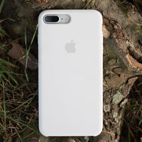 Apple Original Silicon Case Iphone 7 , White