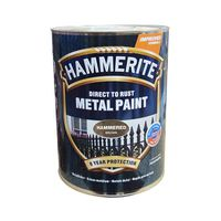 Hammerite Краска для металла Коричневая молотковая 0.25л
