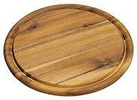 Доска разделочная  деревянная 30см 28444