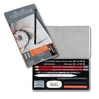 Set pentru desen, 11 articole , Teacher s Choice Beginner Cretacolor