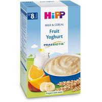 Terci organic Hipp din grâu cu probiotice, fructe și iaurt (8+ luni), 250gr.