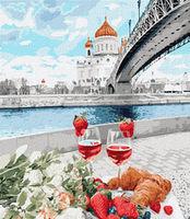 Pictura pe numere 40x50 Picnic romantic 03586