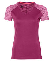 Asics Fuzex V Neck Ss Top
