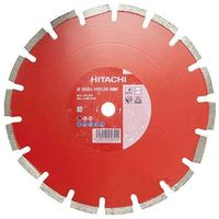 Диск алмазный d350x20,0x10mm ASPHALT BRILLIANT LASER HITACHI-HIKOKI