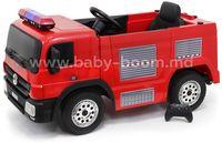 Baby Mix UR-SX1818 Пожарная на аккумуляторе красный