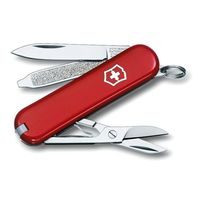 Нож-брелок Victorinox Classic, 58 mm, red, 0.6223