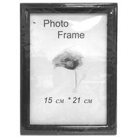Рамка для фото 15x21см, деревянная, черная