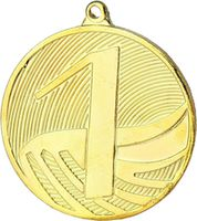 Медаль D50/MD1291G золото 1-е место TRY