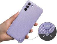 Чехол для моб.устройства Samsung Galaxy S21+ EF-XG996 Kvadrat Cover Violet