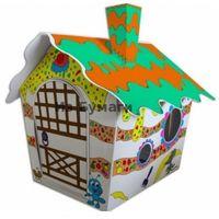 Essa Toys Картонный домик-раскраска,