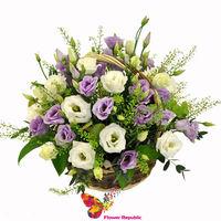 """купить Миниатюрная корзина с цветами """"Princess"""" в Кишинёве"""