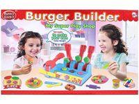 Набор для лепки Funny Lucky Burger shop (аксессуары)