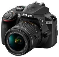 Фотокамера зеркальная Nikon D3400 KIT AF-P 18-55 VR