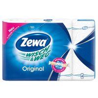 Zewa бумажные полотенца, 2 слоя, 4 рулона
