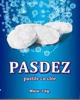 Дезинфицирующие таблетки с хлором Pasdez 1кг ~ 370 шт