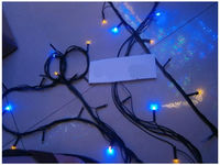 купить Огни новогодние 100LED, разноцв, 8m в Кишинёве