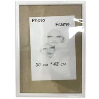Рамка для фото A3, деревянная, белая