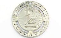 Медаль за 2 место d=6.5 см, 38 гр 6409 (3861)