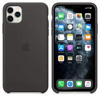 Apple Original Silicone Case Iphone 11 Pro  , Black