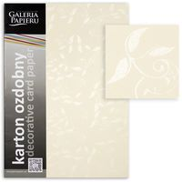 ARGO Картон GPAPIERU Liana A4, 230г/м2 кремовый