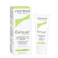 Noreva EXFOLIAC ACNOMEGA 100 Cremă 30ml (tratamentul acneei formele ușoare și moderate)