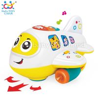 Huile Toys 6103 Самолетик  с музыкой и светом