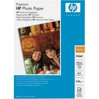 A4 240g 20p HP Premium Photo Paper, Glossy, 240g/m2, 20 pcs
