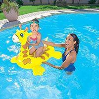 Bestway надувной жираф для плавания 109см x 71см x 79см