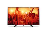 """32"""" LED TV Philips 32PFT4101/12, Black (1920x1080 FHD, PPI 200 Hz, DVB-T/T2/C) (32"""", 81 cm, Black, Full HD, PPI 200Hz, 2 HDMI, 1 USB  (foto, audio, video, USB recording), DVB-T/C,  Speakers 16W, 5 Kg, VESA 100x100)"""