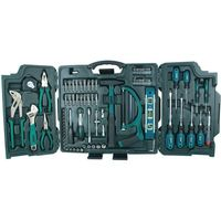 Mannesmann universal tool set in folding suitcase, 89pcs