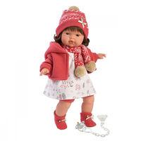 Llorens кукла интерактивная Лола 38 см