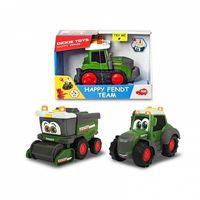Dickie tractor cu sunet şi lumină Happi Fend, 16 cm