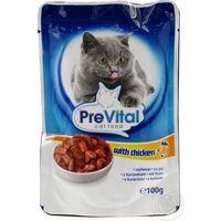 PreVital Classic (Превитал Классик) для кошек с курицей в соусе 100гр