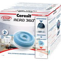 купить Таблетки сменные Ceresit Stop AERO 360°, 2 x 450г, (95394) в Кишинёве