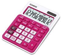 CASIO Калькулятор CASIO MS-20NC, 12-разрядный, красный